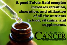 The central substance behind your DNA is carbon...and fulvic acid could be the link to disease prevention you've been searching for! Discover more about the benefits of fulvic acid. Article by Dr. Dan Nuzum. Please re-pin to help us educate others! // The Truth About Cancer