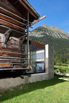 Hütte in Praz-de-Fort panoramah!® Lausanne, Bari, Adaptive Reuse, Farmhouse Remodel, Architecture, Modern Farmhouse, Tiny House, Minimalism, House Design