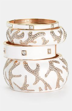Sequin Bangles | Nordstrom ~ Love this look!