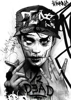 #Dope #1/2 #Dead #Illicit #Art