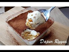 Cheesekut Tiramisu ~ sedap sehingga tak terkata - YouTube Cheese Cakes, Tiramisu, Ice Cream, Box, Youtube, Desserts, Cheesecakes, No Churn Ice Cream, Tailgate Desserts