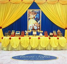 Beauty And Beast Birthday, Beauty And The Beast Theme, Beauty And Beast Wedding, Beauty And The Best, Princess Theme Party, Disney Princess Birthday, Birthday Goals, Quince Decorations, Princess Beauty