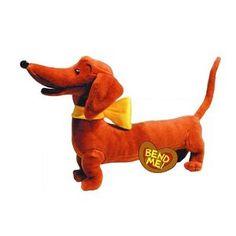"Amazon.com: Pretzel 14"" Bendable Soft Stuffed Animal Plush By Yottoy: Toys & Games"