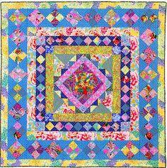 knot garden quilt