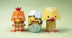 Printable paper critters.