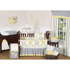 Sweet Jojo Designs Mod Garden 9-piece Bedding Set