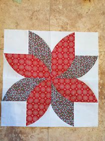 Fun Poinsettia's!         Isn't this a super fun runner for the Holiday's!     We've got a free tutorial to share with you on how to m...