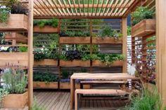 """Já não há desculpas para não ter um jardim, o """"jardim vertical"""" cabe em qualquer cantinho de sua casa ou apartamento. Eles foram criados pa..."""