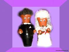 Tontopf Brautpaar