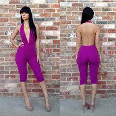 Purple Draya Jumpsuit <3