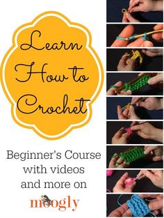 Learn To Crochet including Left Handed  Tutorial