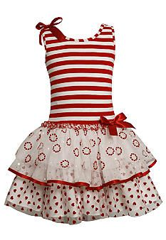 Take a look at this Gerson & Gerson Red Stripe Ruffle Dress - Girls by Gerson & Gerson on today! Cute Little Girl Dresses, Little Girl Outfits, Little Girl Fashion, Baby Girl Dresses, Fashion Kids, Baby Dress, Cute Dresses, Kids Outfits, Ruffle Dress