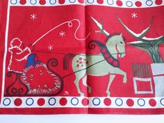 Your place to buy and sell all things handmade Scandinavian Christmas, Nordic Style, Winter Scenes, Textile Design, Sweden, Screen Printing, Textiles, Graphic Design, Awesome