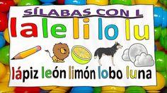 SÍLABAS PARA NIÑOS CON MÚSICA CON M, P, S, L, N, D, F, T y B. SYLLABLES ...