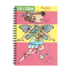 Fun Art - Fairies Flip & Draw  **Illustrator Katie Wood's Fairies are in fight and ready to color...or draw and color your own!