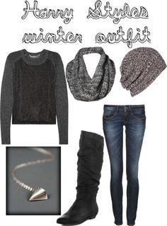 """""""Harry Styles winter outfit"""" by sortarican829 on Polyvore"""