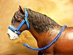 Blue Halter for Schleich Horses
