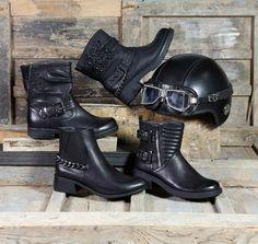 Moda en tus pies de Payma Biker, Boots, Fashion, Feet Nails, Fall Winter, Over Knee Socks, Zapatos, Women, Crotch Boots