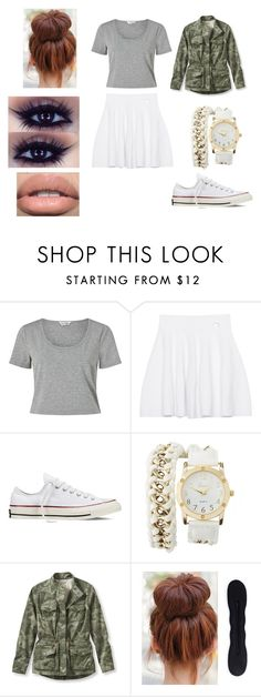 """""""Sin título #101"""" by evelyn-mendoza-1 on Polyvore featuring moda, Miss Selfridge, Kenzo, Converse, Charlotte Russe y L.L.Bean"""