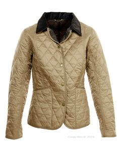 Barbour Quilted Jacket.  On sale!