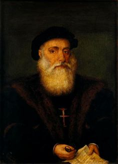 Vasco da Gama- (c. 1460s – 23 December 1524) was a Portuguese explorer. He was the first European to reach India by sea, linking Europe and Asia for the first time by ocean route, as well as the Atlantic and the Indian oceans entirely and definitively, and in this way, the West and the Orient.