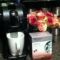 Starbucks Verismo...Love-Love-Love it!!!!!