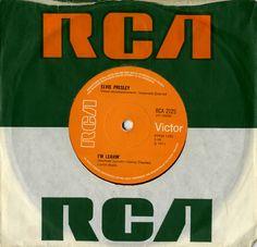 """Elvis Presley I'm Leavin' - Solid 7"""" vinyl single (7 inch record) UK ELV07IM562652"""