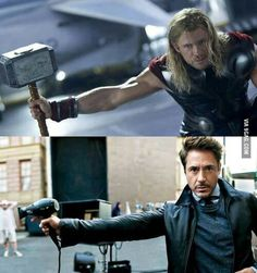 "Close enough. Or as Tony likes to say ""Nailed it!"""