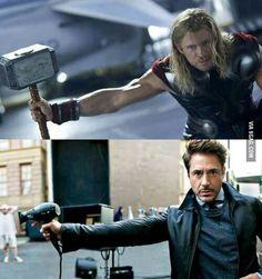 """Close enough. Or as Tony likes to say """"Nailed it!"""""""