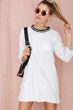 Glamorous Draya Sequin Dress | Shop Dresses at Nasty Gal