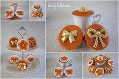 Koninginnedag cupcakes in stijl door Wendy Kalkhoven