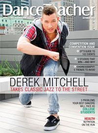 Derek Mitchell is on the cover of our October 2014 issue! Check it out!