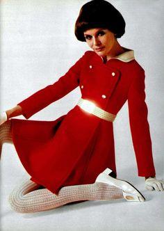 Fashion by Philippe Venet, 1969.