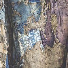 BORO is Beautiful Japanese Textile! #kuon #kuontokyo #japaneseboro #襤褸 #刺し子 #藍染 #aizome #sashiko