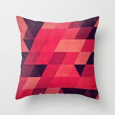 pynk Throw Pillow by Spires - $20.00