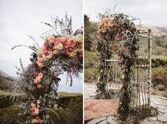 Intimate, Vintage-Inspired Big Sur Wedding: Amelia + Jonathan   Green Wedding Shoes   Weddings, Fashion, Lifestyle + Trave