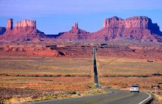 Monument Valley in Arizona...I will make this road part of a road trip this year.