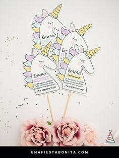 Invitation to parties baby Unicorn Baby Unicorn, Unicorn Party, Unicorn Birthday Invitations, Party Decoration, Baby Shower, Sweet 16, Birthday Parties, Handmade Gifts, Etsy Handmade