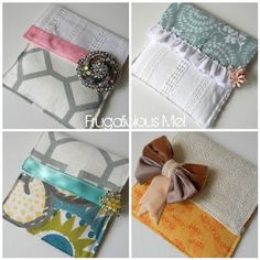 Refillable sachets- guest bedroom, dressers, closets, Jigsy's room, linen closet. I'm thinking lavender essential oils, or maybe some oils from Scentsy?