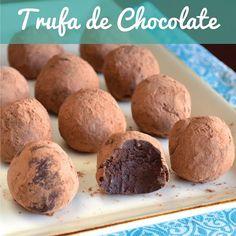 trufa de chocolate | Resultados da pesquisa  | CAROL BUFFARA