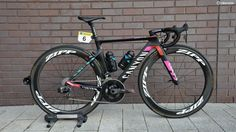 Barbara Guarischi's Canyon Aeroad CF SLX