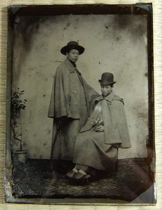 This Japanese ambrotype probably dates to the 1870s or 1880s, and depicts two young men. | eBay!