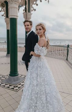 one of Marzia's wedding dresses Dream Wedding Dresses, Wedding Gowns, Marzia And Felix, Marzia Bisognin, Celebs, Celebrities, Cute Couples, Bridal Gowns, Trendy Fashion
