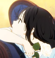 Pretty Anime Girl, Anime Art Girl, Anime Love, Cute Anime Profile Pictures, Matching Profile Pictures, Anim Gif, Anime Triste, Foto Gif, Tamako Love Story