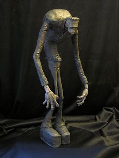 Stylized Frankenstein Painted by Blairsculpture.