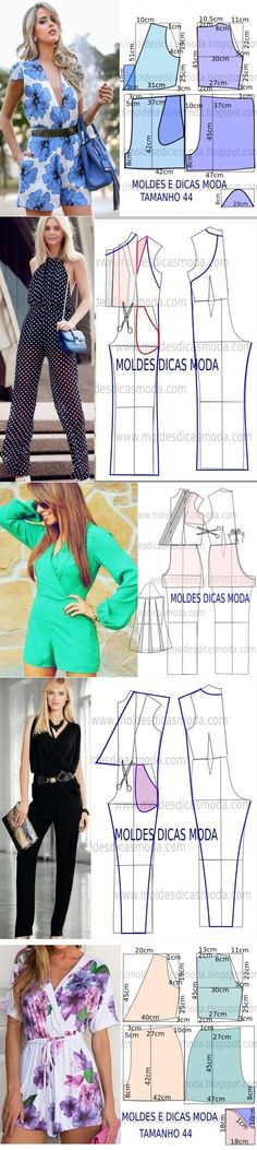 Sewing Pattern/ jumpsuits and Rompers by imelda