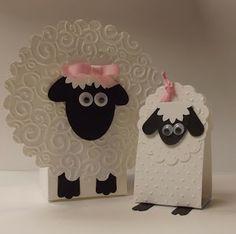 DiY;) stamping sanity: Little Lambs