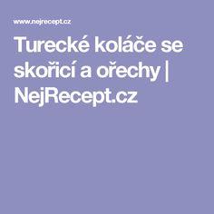 Turecké koláče se skořicí a ořechy | NejRecept.cz