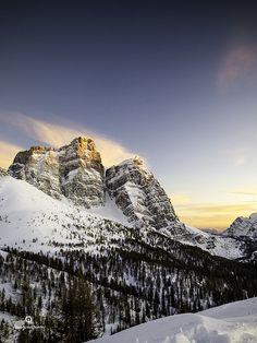 Monte Pelmo #Dolomiti #Sunset