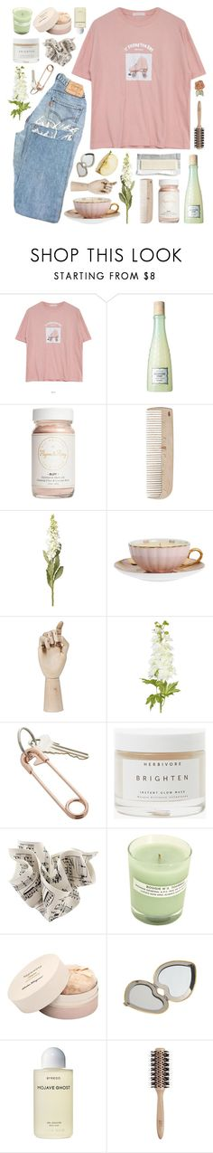 """our minds are such fragile things"" by ladykrystal ❤ liked on Polyvore featuring Goroke, Benefit, Flynn&King, HAY, OKA, MOR Cosmetics, CB2, Herbivore, A.P.C. and Salvatore Ferragamo"